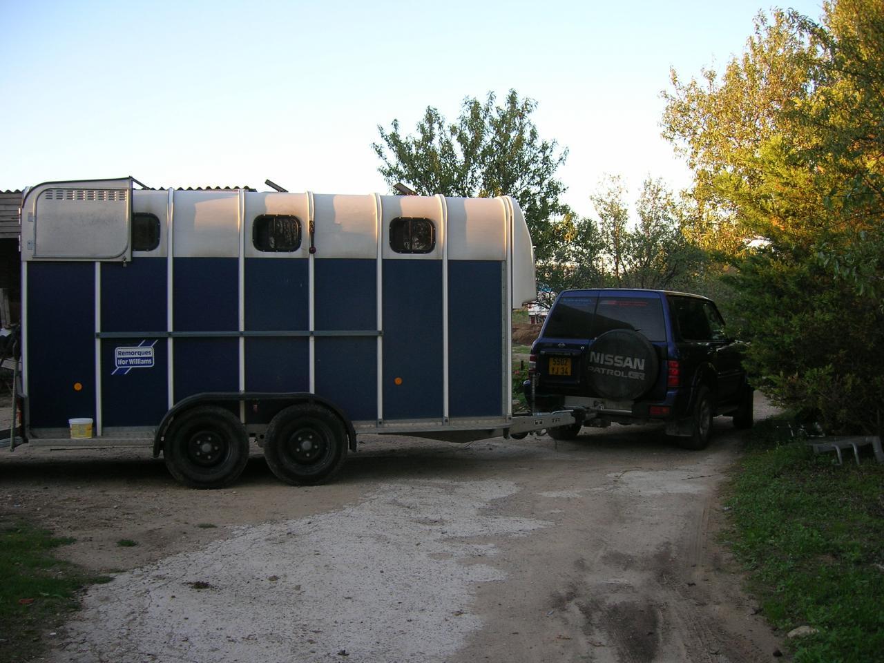 van chevaux pas cher